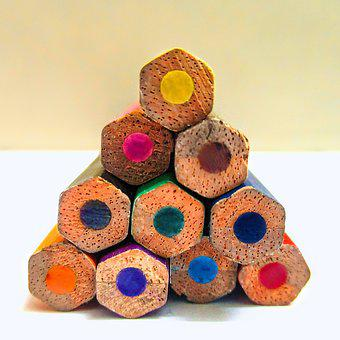 Color, Pencil, Colour, Colorful, Colourful, Pen, Macro