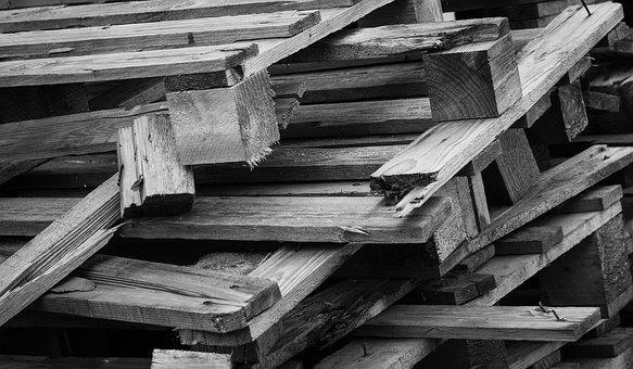 Pallets, Building, Build, Wood, Industry, Production