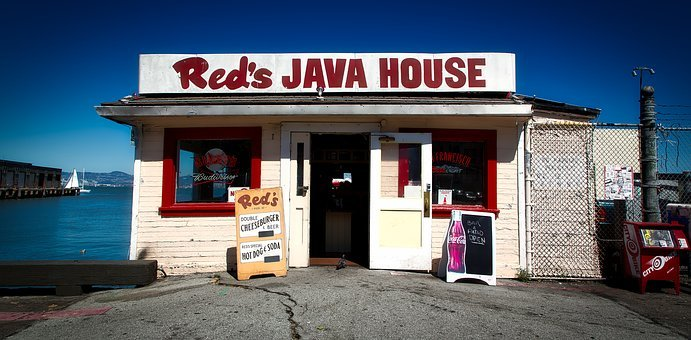 Red's Java House, Eatery, Cafe, Coffee Shop, Business
