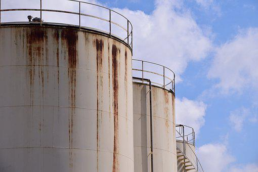 Silo, Rust, Old, Rusty Silo, Agriculture, Storage