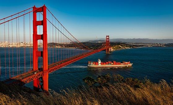 Golden Gate Bridge, Suspension, San Francisco