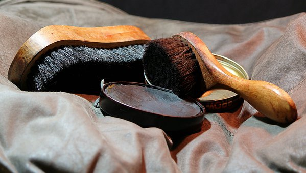 Shoeshine, Shoe Polish, Shine Brush, Applicator Brush