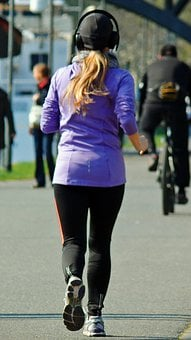 Jogging, Continuous Operation, Sport, Leisure, Movement