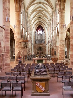 Stiftskirche, St Arnual, Interior, Gothic, Church