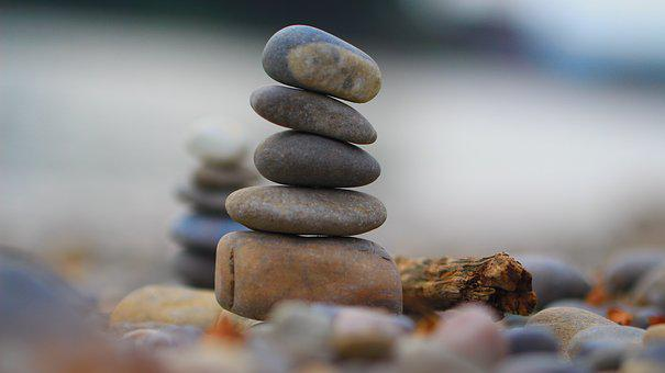 Pebble, Stone, River, Colorful, Water, Nature, Pebbles