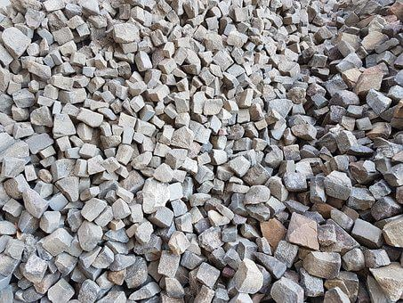 Paving Stones, Cairn, Construction Material, Stones