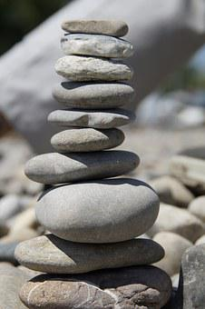 Stones, Stone Tower, Stack, Stacked, Cairn, Tower