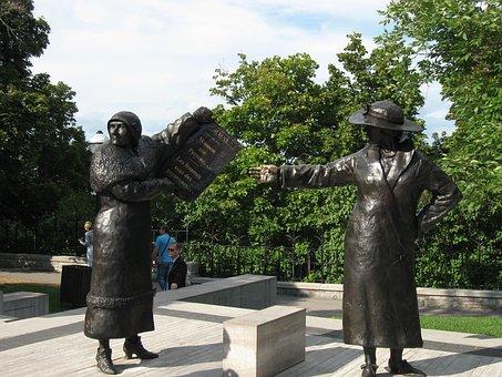 Statues, Women, Monument, Famous, Statement, Symbol