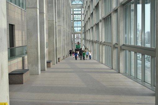 Corridor, Massive, Interior, Hall, Hallway, Tall