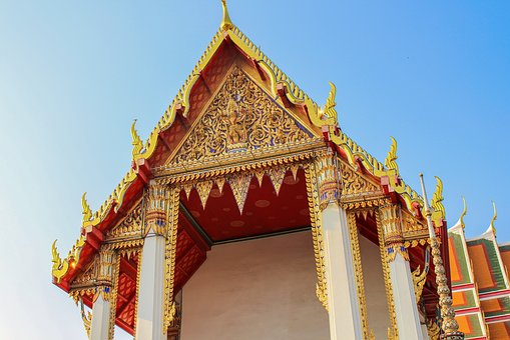 Buddha, Temple, Wat, Thailand, Buddhism, Religion