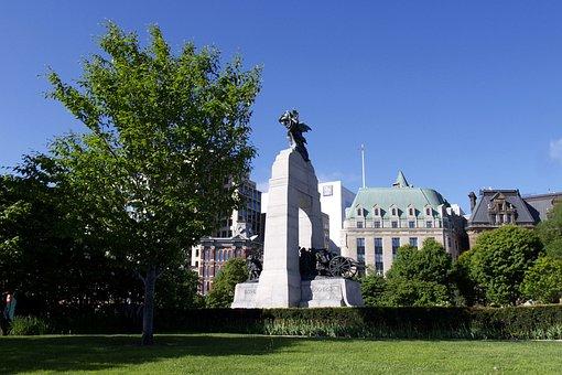 War, Monument, Ottawa, Canada, Worldwar, Building, City
