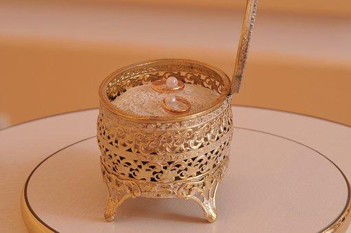 Rings, Casket, Wedding