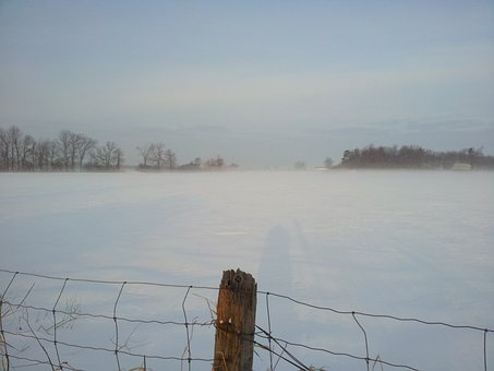Winter, Ottawa, Foggy Winter Day