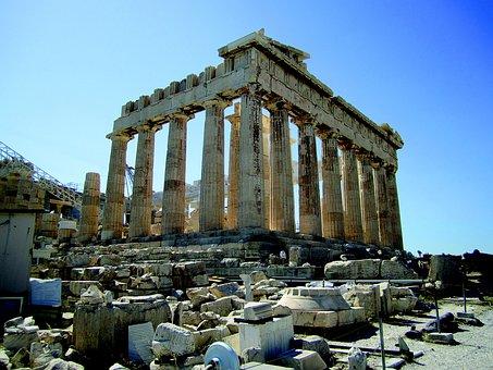Parthenon, Athens, Acropolis, Temple, Greece, Greek