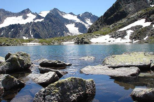 Bergsee, Mountain, Alpine, Landscape, Austria