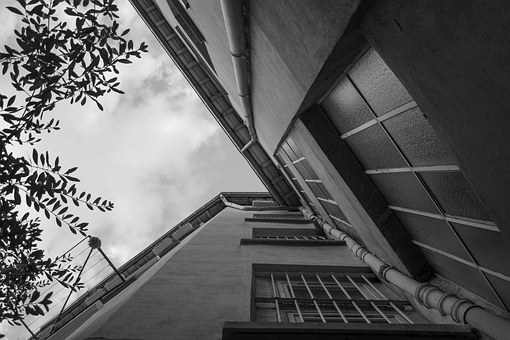 Lyon, France, Red Cross, Architecture, City, Urban