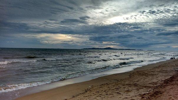 Beach, Bay, Bengal, Thailand, Sea, Sand, Water, Travel