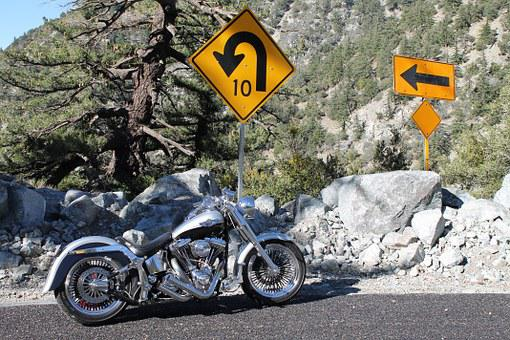 Bend, Central Oregon, Motorcycle, Chopper, Harley