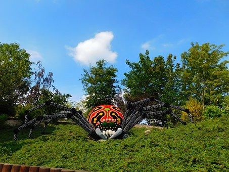Legoland, Denmark, Billund, Lego, Spider