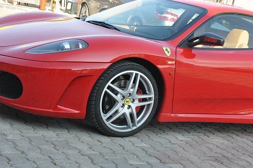 Ferrari, F430, The Red Car, Modified, Car
