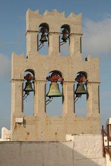 Bells, Monastery, Patmos, Island, Greek, Church
