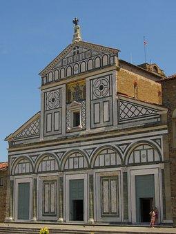 Florence, Rhaeto Romanic, Church San Miniato Al Monte