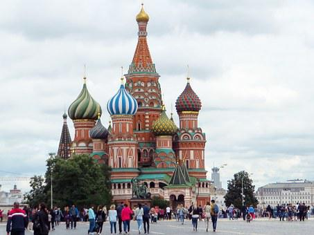 Moscow, St Basile, Red Square, Church