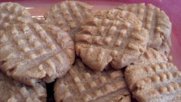 Peanut Butter, Cookies, Gluten Free, Delicious, Peanut