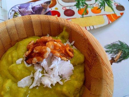 Dessert, Mango, Avocado, Cream, Blender, Coconut Cream