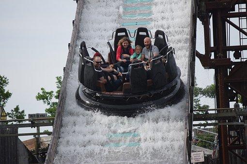 Water Games, Fun, Legoland, Denmark, Billund, Day Out