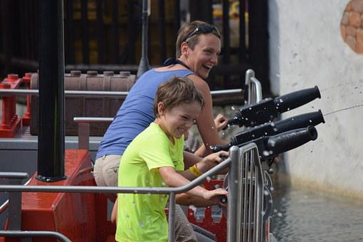 Water Games, Fun, Water Park, Legoland, Denmark
