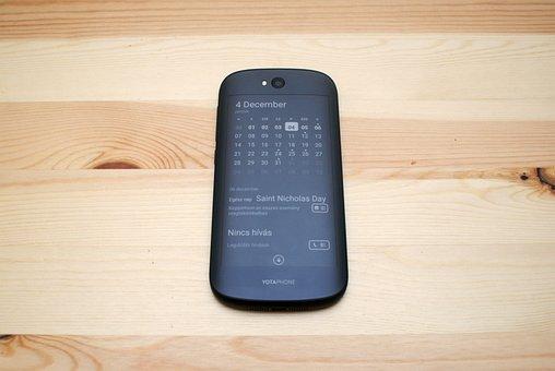 E-book, Yotaphone2, Mobile, Smartphone, E-paper, E-ink