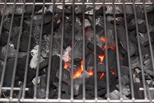 Barbecue, Charcoal, Glow, Grill, Carbon, Fire, Embers