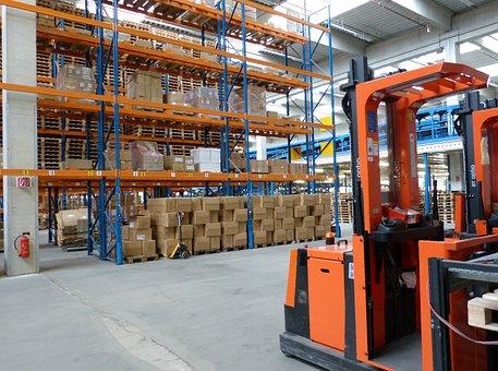 Factory, Industrial Hall, Logistics, Trade, Transport