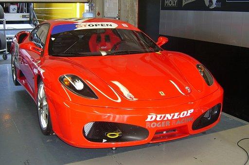 Ferrari, Car, Red, F430, Sports Car, Automobile
