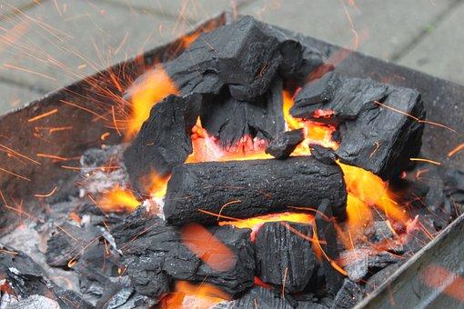 Grill, Fire, Charcoal, Flame, Mehran B, Manghal