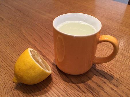 Lemon Tea, Cold, Healthy, Bless You, Get Well Soon