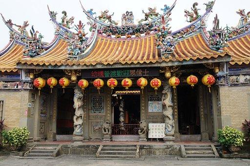 Hsinchu County North Po, Beipu, Peipu Street, 廟-woo