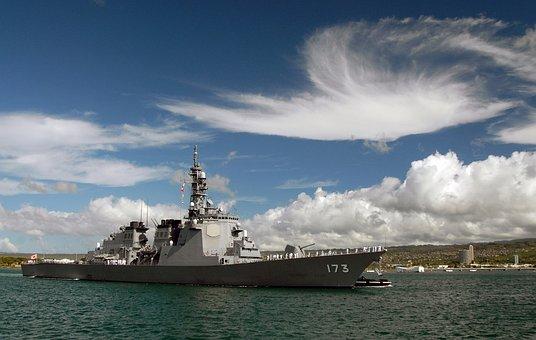 Destroyer, Warship, Pearl Harbor, Ship, Japanese