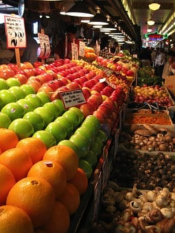 Fruit, Market, Fruits, Market Stall, Street Vendor