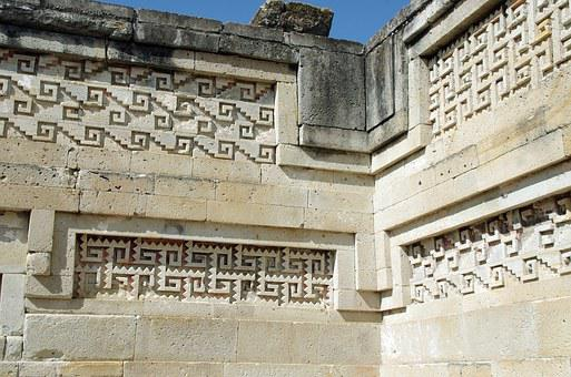 Mexico, Oaxaca, Mitla, Temple, Mixtec, Zapotec, Greek