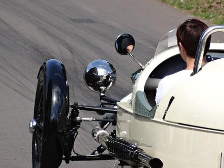 Morgan Three Wheeler, Shelsley Walsh Hill Climb