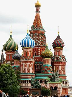 Russia, Moscow, Red Square, Church, St-basile