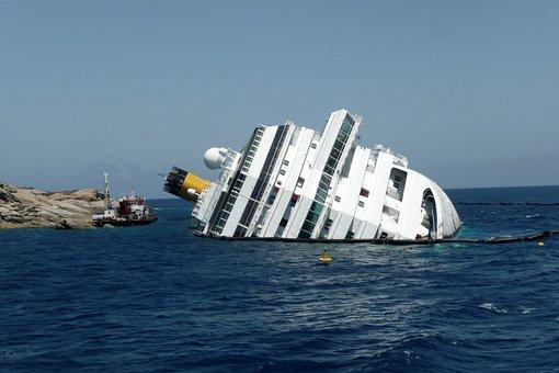 Concordia, Island Lily, Shipwreck, Ship, Sea, Ocean