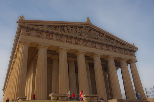 Parthenon, Pillars, Nashville, Tennessee, Acropolis
