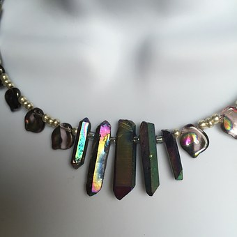 Jewelry, Rainbow, Crystal Daggers, Colorful, Woman
