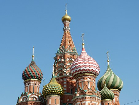 Saint Basil's Cathedral, Orthodox, Russia, Moscow