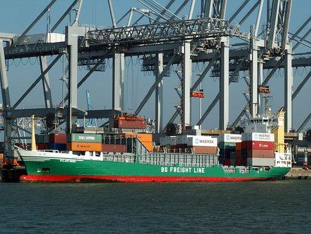 Bg Antwerp, Ship, Vessel, Freight, Cargo, Logistics