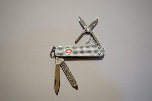 Knife, Pocket Knife, Swiss Knife, Sharp, Cut, File