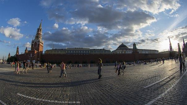 The Kremlin, Red Square, Moscow, Russia